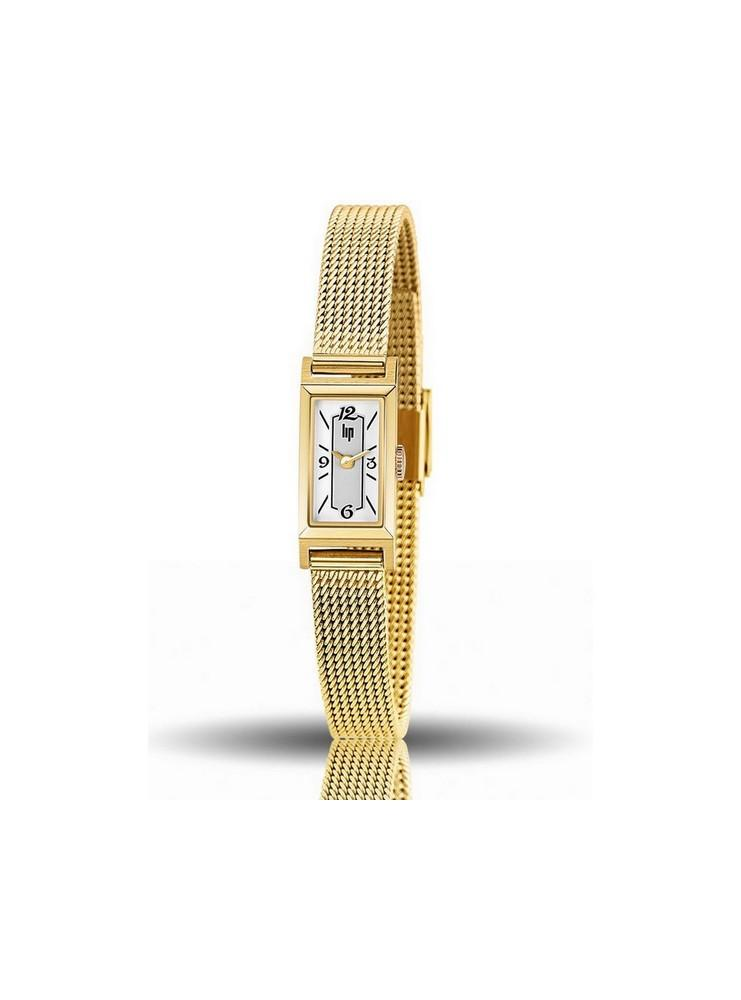 Montre Lip Femme Churchill T13 Plaqué Or Jaune Baguette
