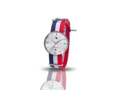 Montre LIP Dauphine France Tricolore 38 MM - Réf. 671439
